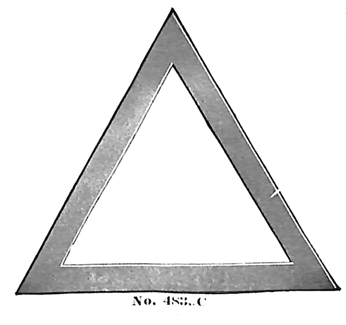 Triangle no. 4839C