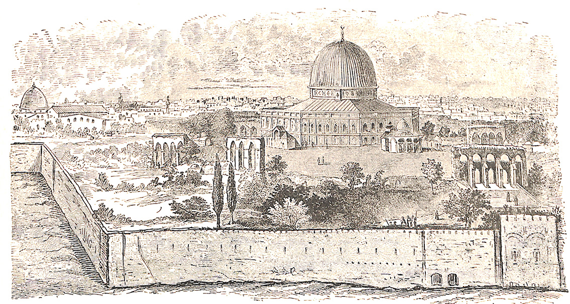 Mosque Of Omar -- Dome Of The Rock