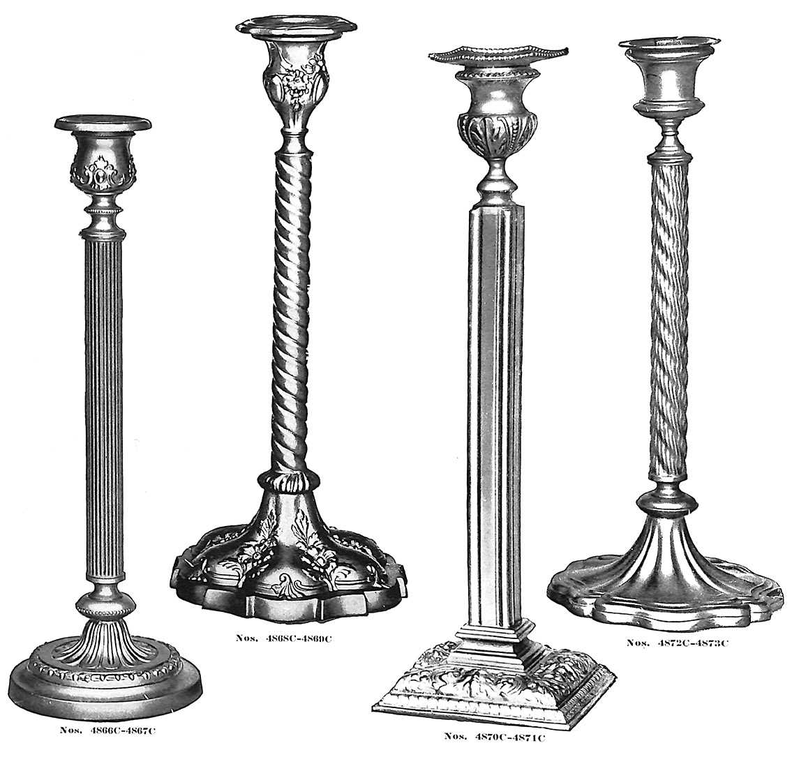 Candlesticks no. 4866C-4873C