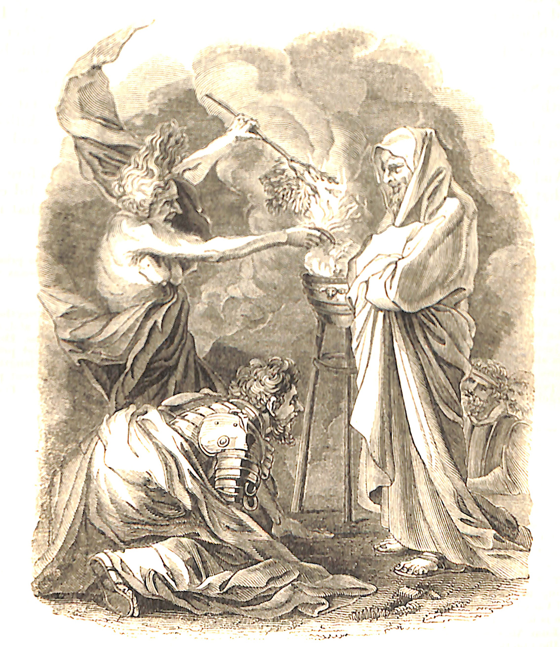Saul And The Witch of En-Dor. Salvator Rosa