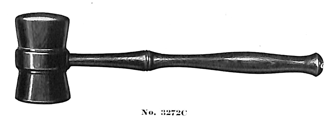 Gavel no. 3272C