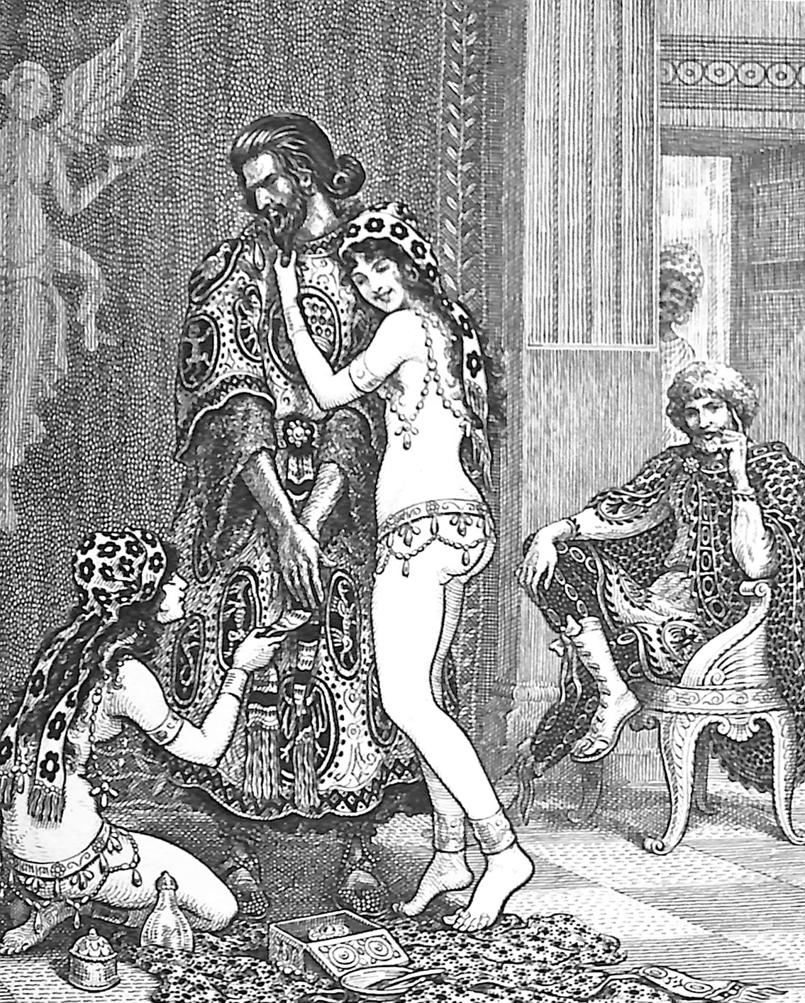 Paphnutius And The Slave Girls