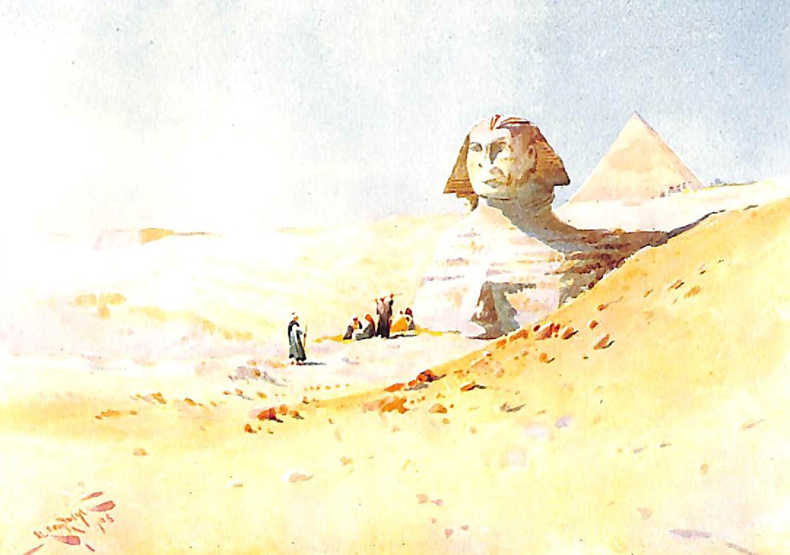 The Sphinx From The Desert