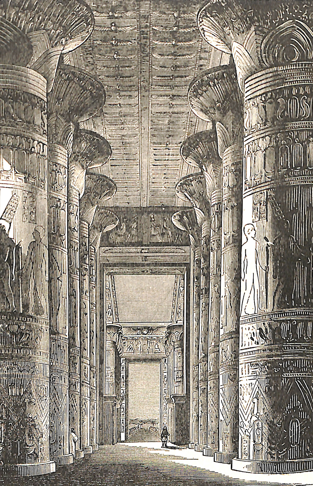 Hall of The Great Temple, Karnak