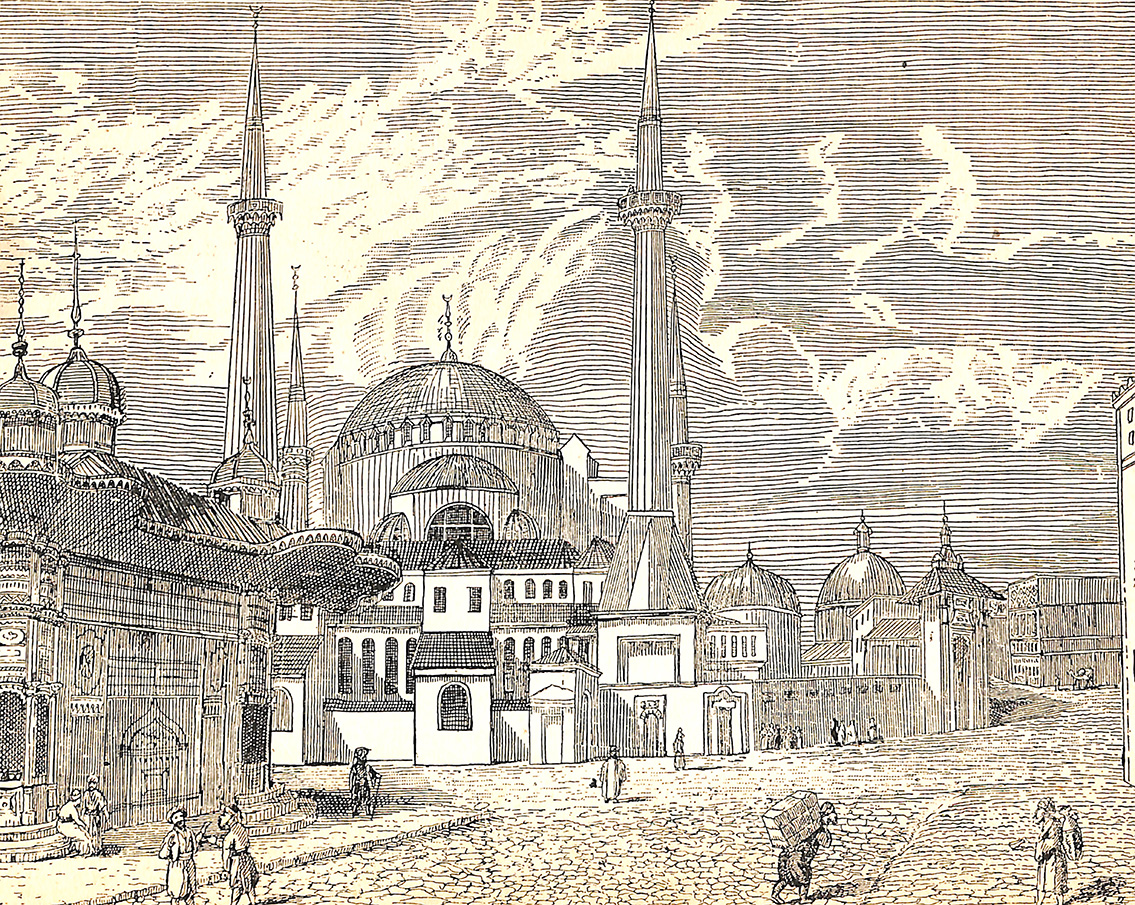 The Mosque St. Sophia