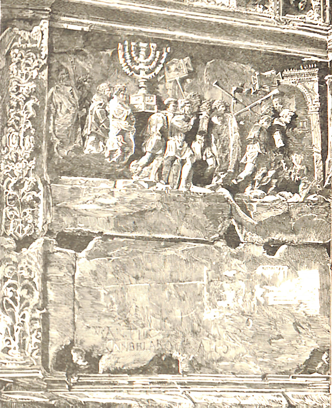 Frieze From The Arch of Titus