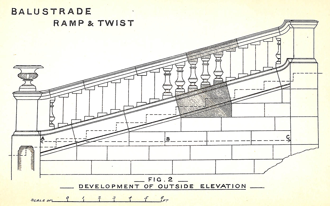 Balustrade Ramp & Twist