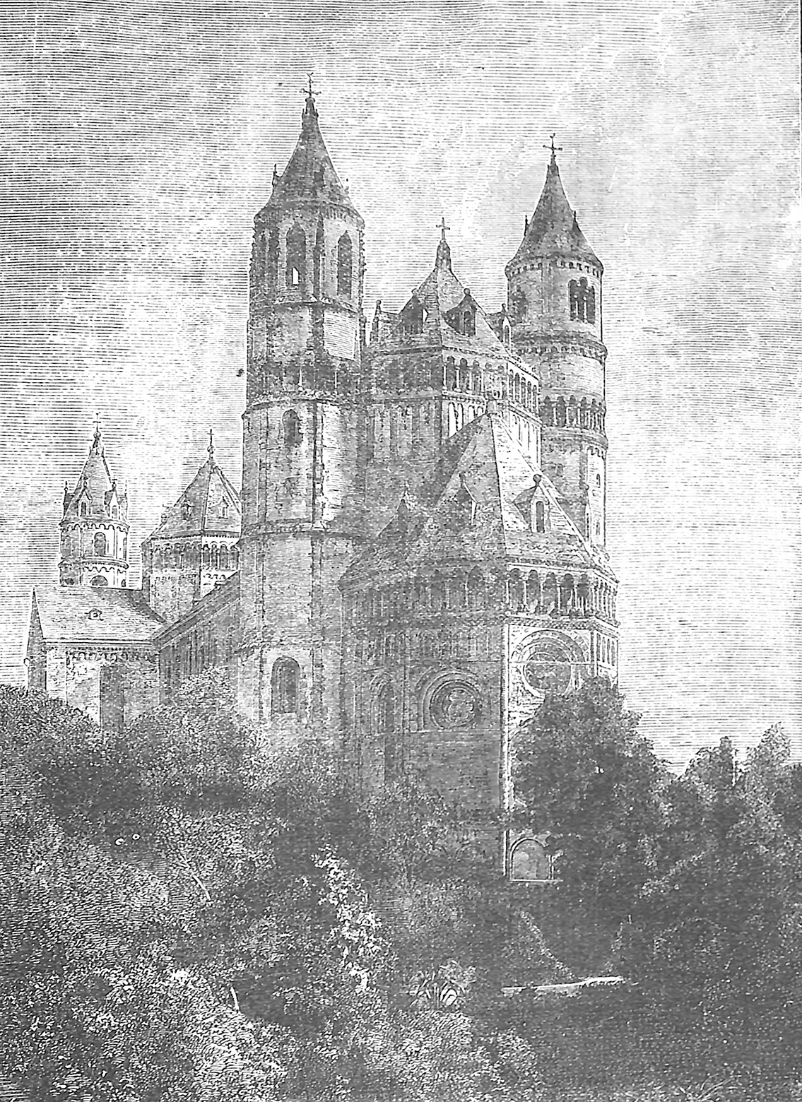 Cathedral At Worms