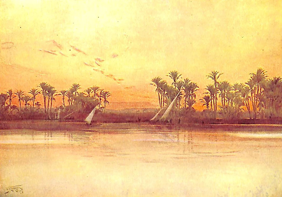 On The Nile Near Sakkara