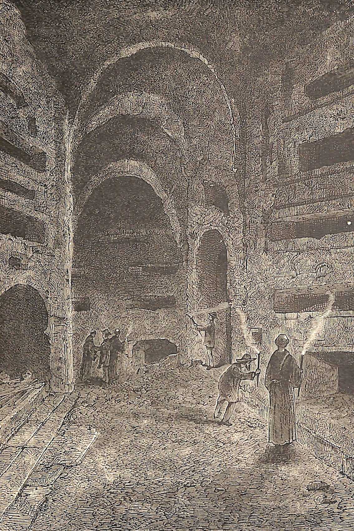 Inside view of Catacombs