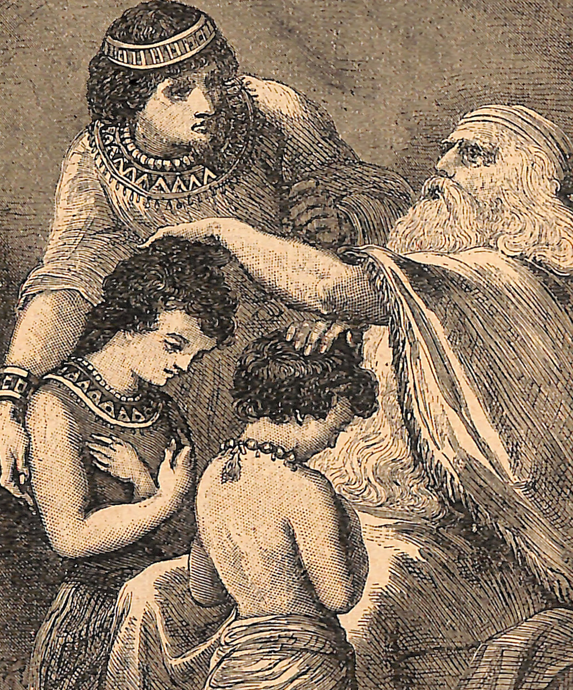 Jacob Blessing Joseph's Children
