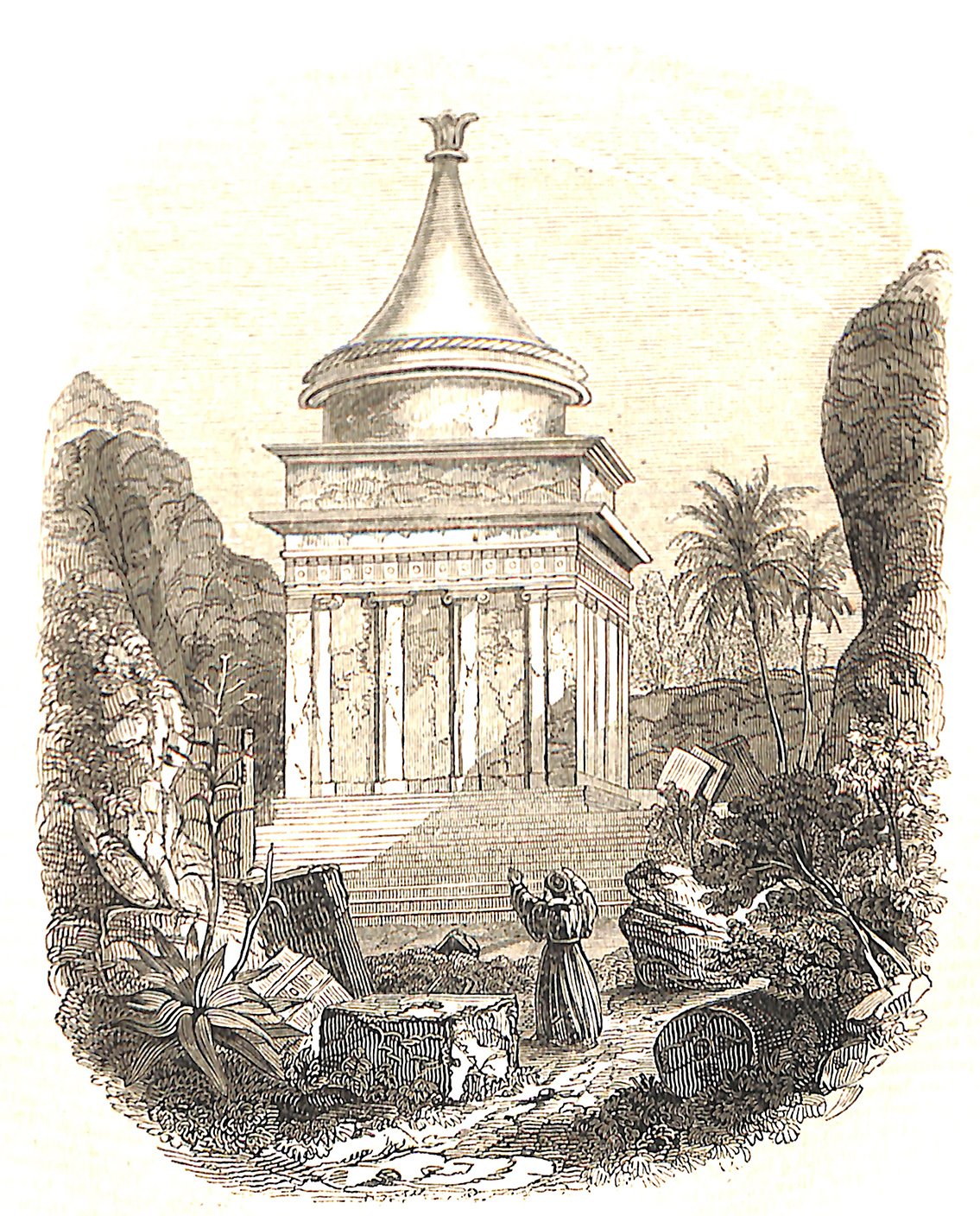 Absalom's Tomb. - From Cassas