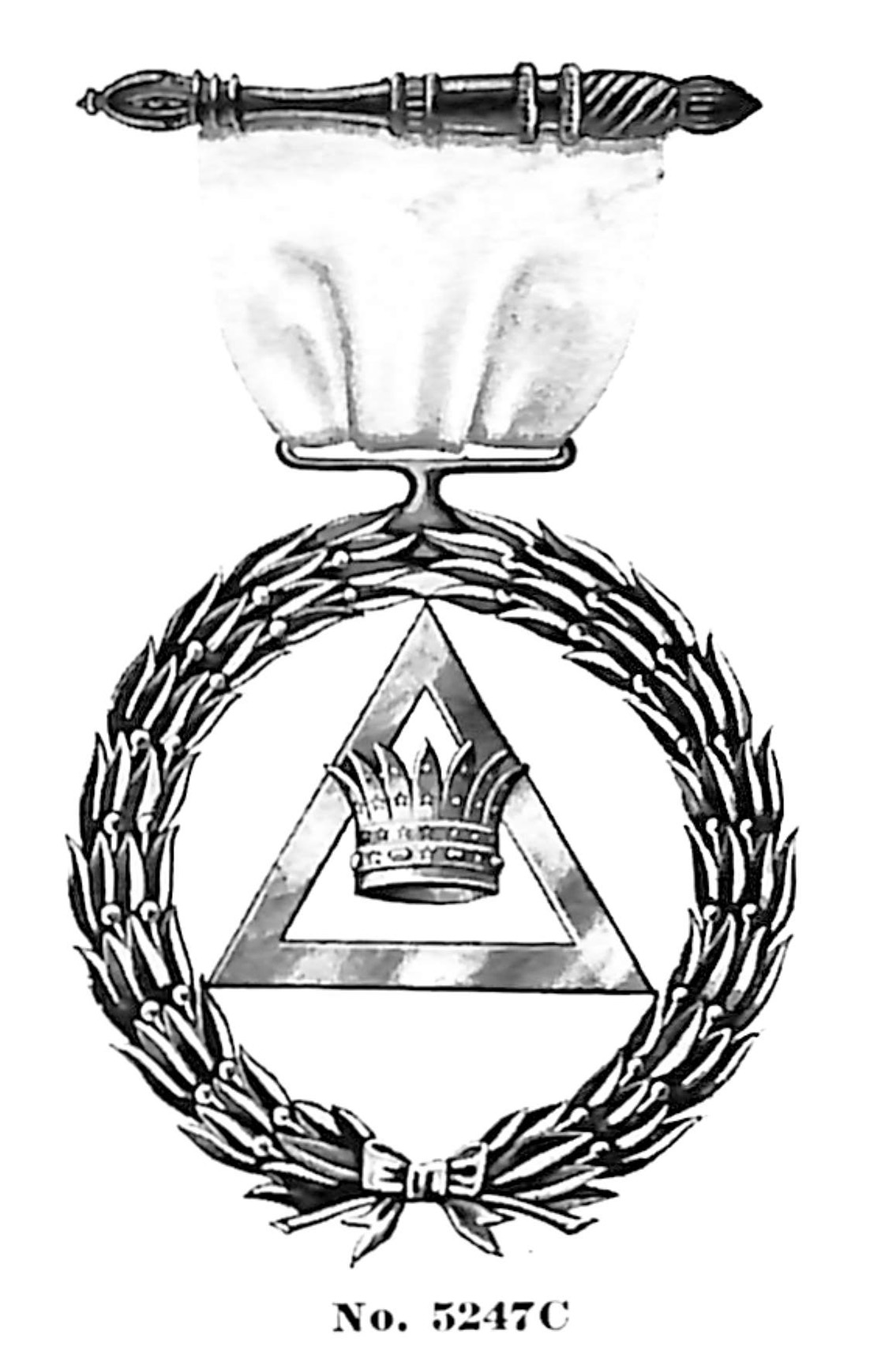 Rose Croix item no. 5247C