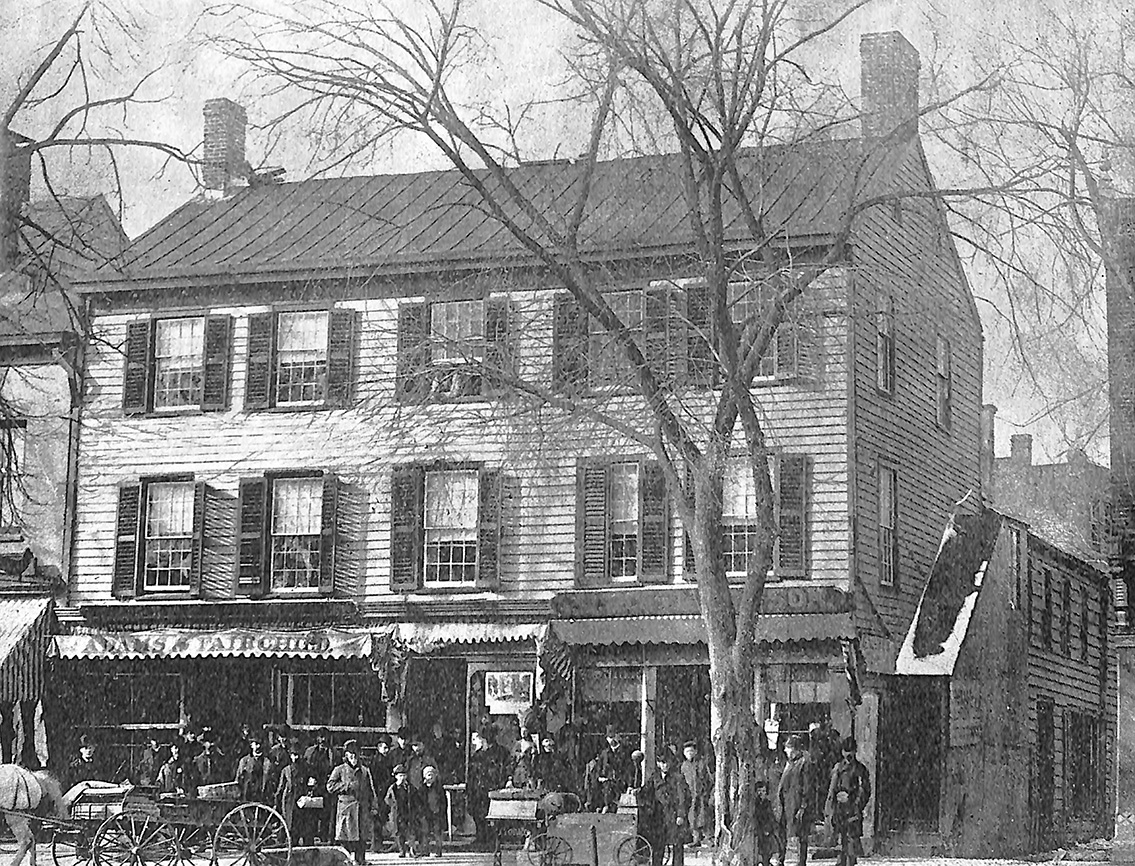 The Old Freemans Tavern, Morristown