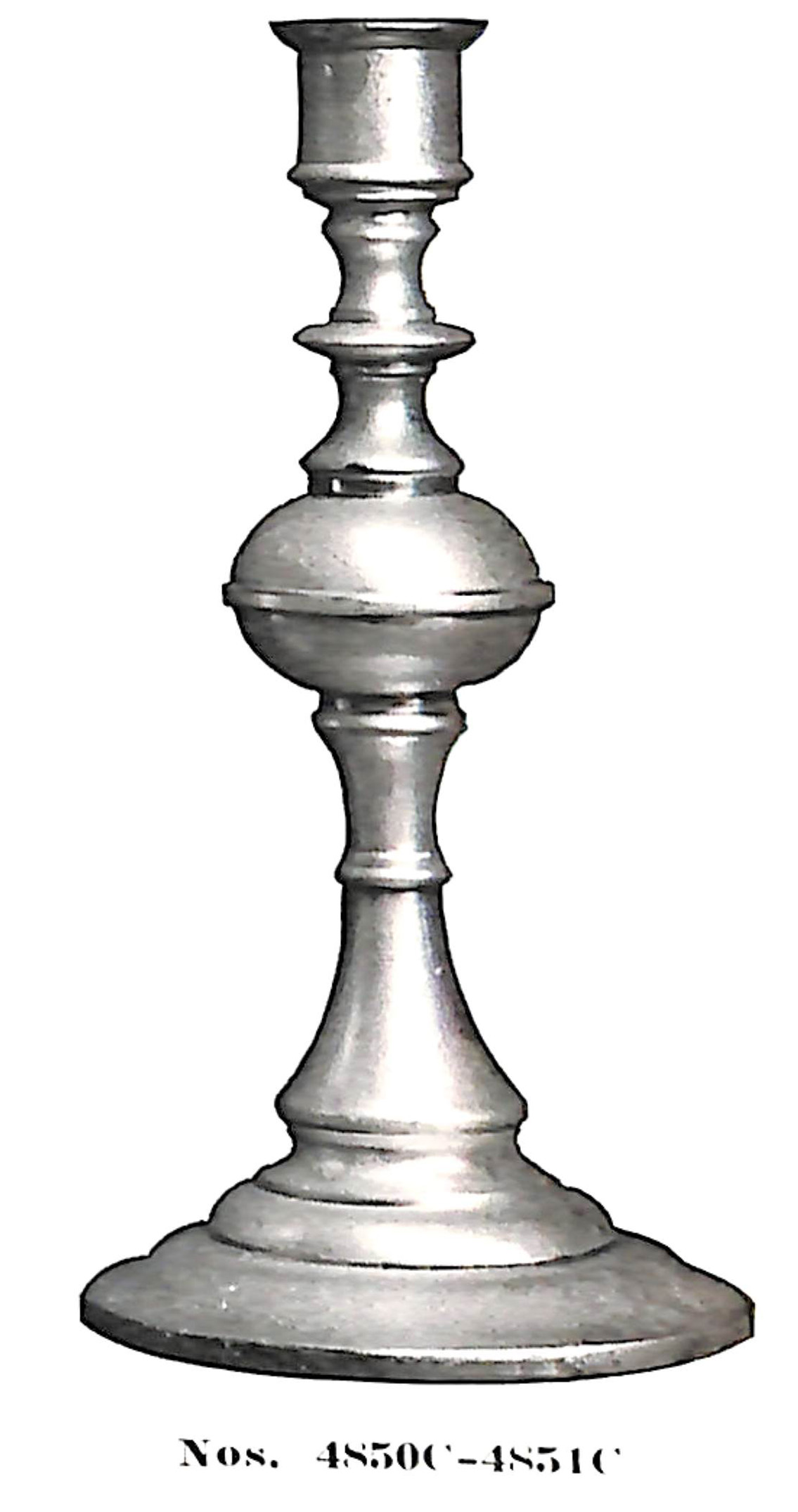 Candlesticks no. 4850C-4851C