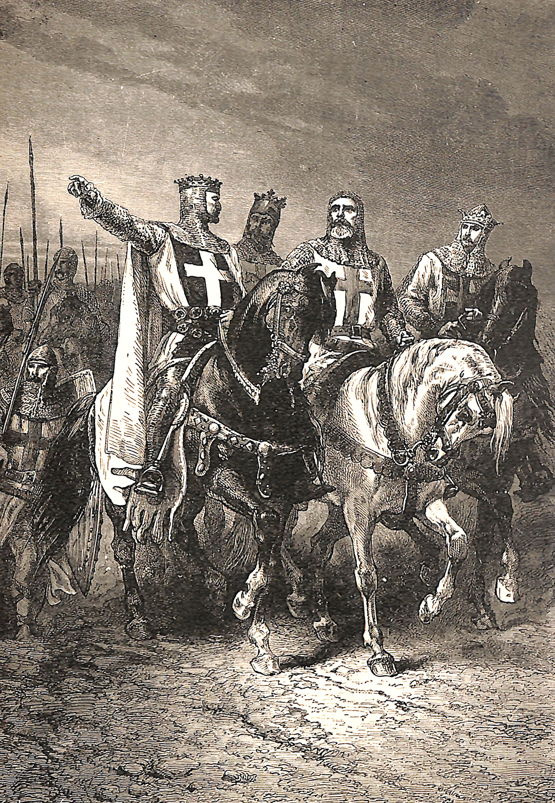 The Four Leaders Of The First Real Crusade