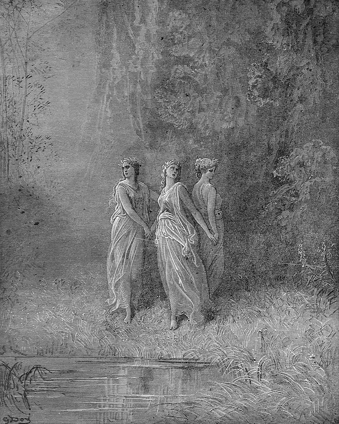 Three Nymphs