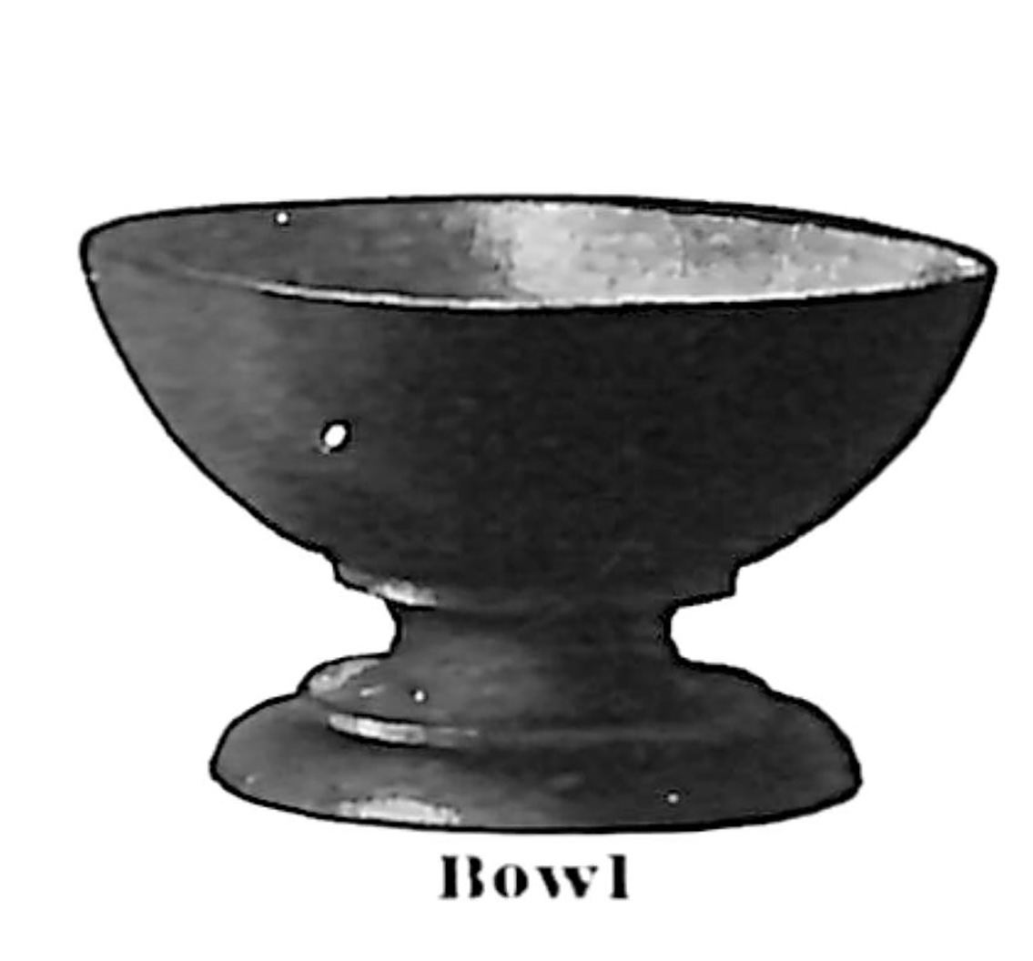 Rose Croix Holy Vessel - Bowl.