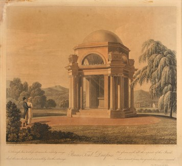 Burns Mausoleum, completed in 1815