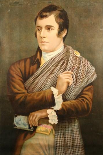 Robert Burns [Image Credit: Dumfries & Galloway Council]